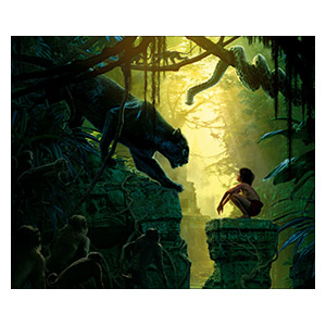 Jungle Book. Размер: 60 х 50 см